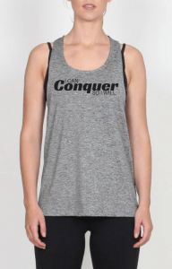 Women's Conquer fitness singlet